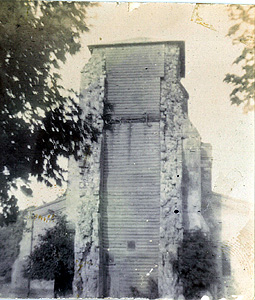 The west face of the tower about 1890 [Z467-12]
